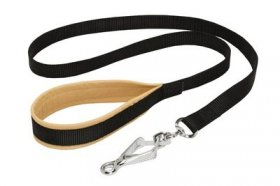 Nylon Belgian Malinois Leash with Support Material on the Handle for Walking and Training