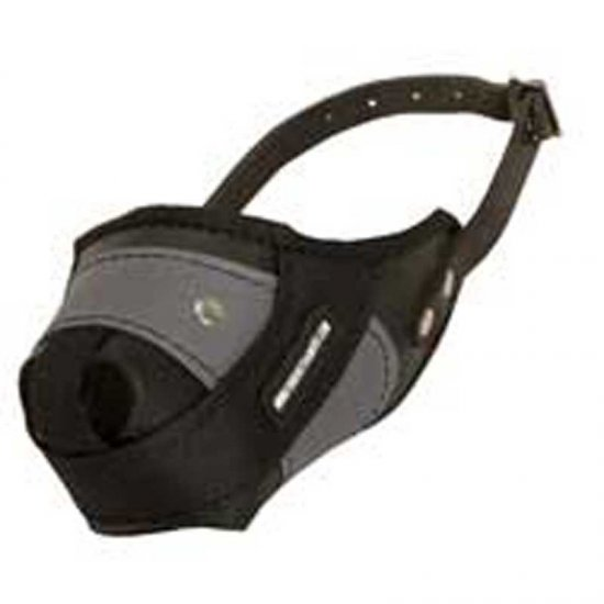 Protection Training Belgian Malinois Muzzle Made of Nylon and Leather