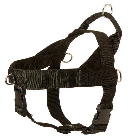 Belgian Malinois Harness Nylon with Patches