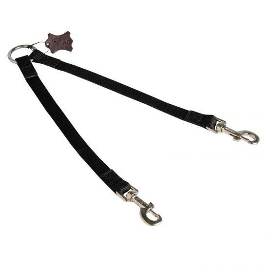 Nylon Belgian Malinois Leash Coupler Stitched