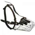 Wire Basket Belgian Malinois Muzzle for Comfortable Walking and Training
