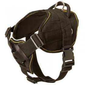Nylon Belgian Malinois Harness for Pulling Tracking Training