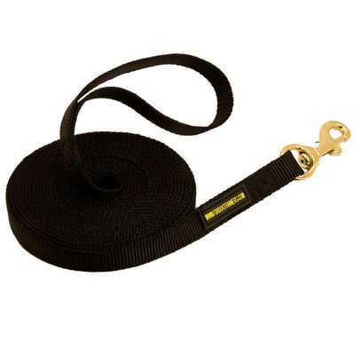 Nylon Belgian Malinois Leash for Tracking and Training