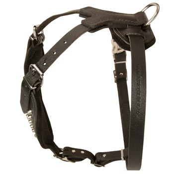Custom Made Leather Belgian Malinois Harness