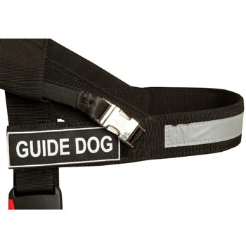 Belgian Malinois Nylon Assistance Harness with Patches