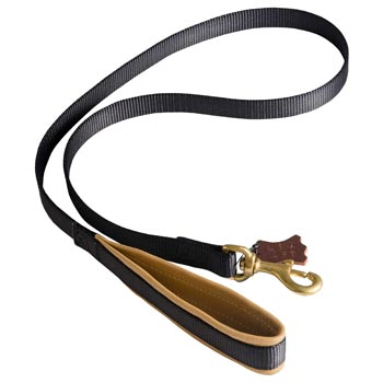 Special Nylon Dog Leash Comfortable to Use for Belgian Malinois
