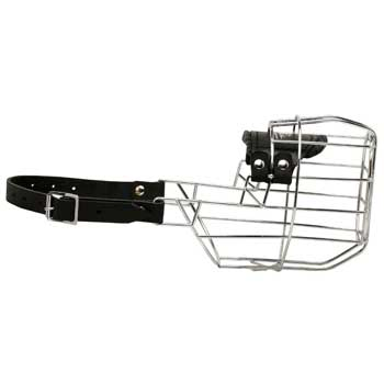 Belgian Malinois Muzzle Wire Cage Easy-to-adjust